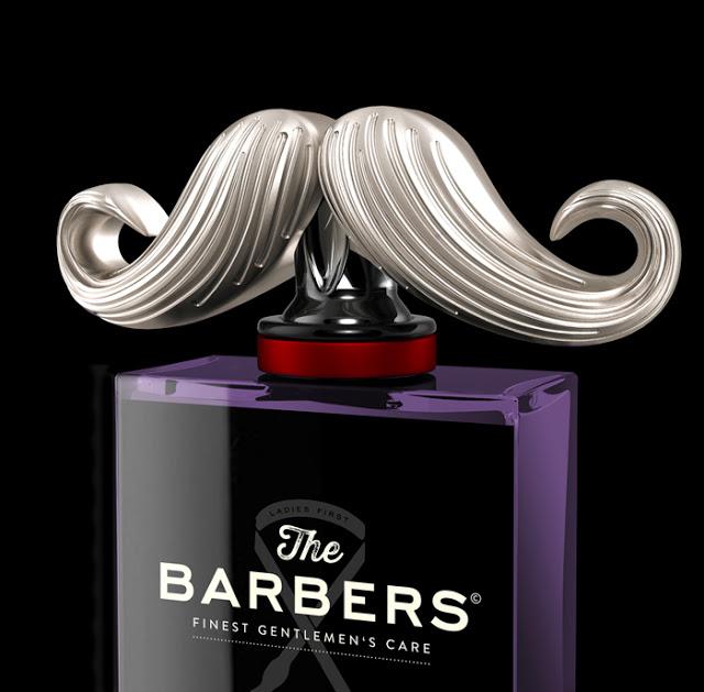 Projekt opakowania The Barbers Gentlemen's Care