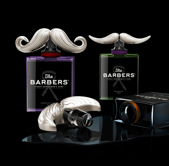 Projekt opakowania The Barbers Gentlemen's Care