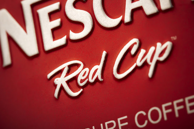 Puszka kawy Nescafe Red Cup Limited Edition