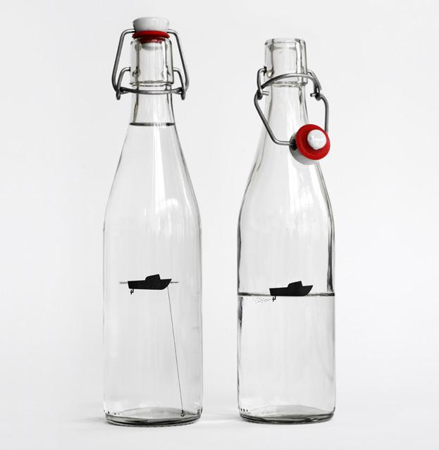 Projekt butelki wody