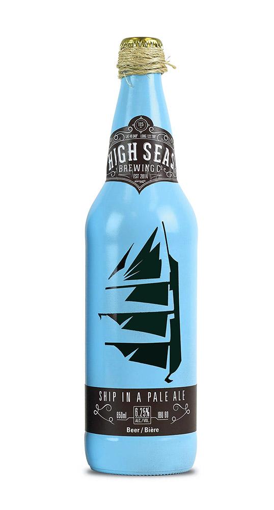High Seas Brewing Co. (projekt studenta)