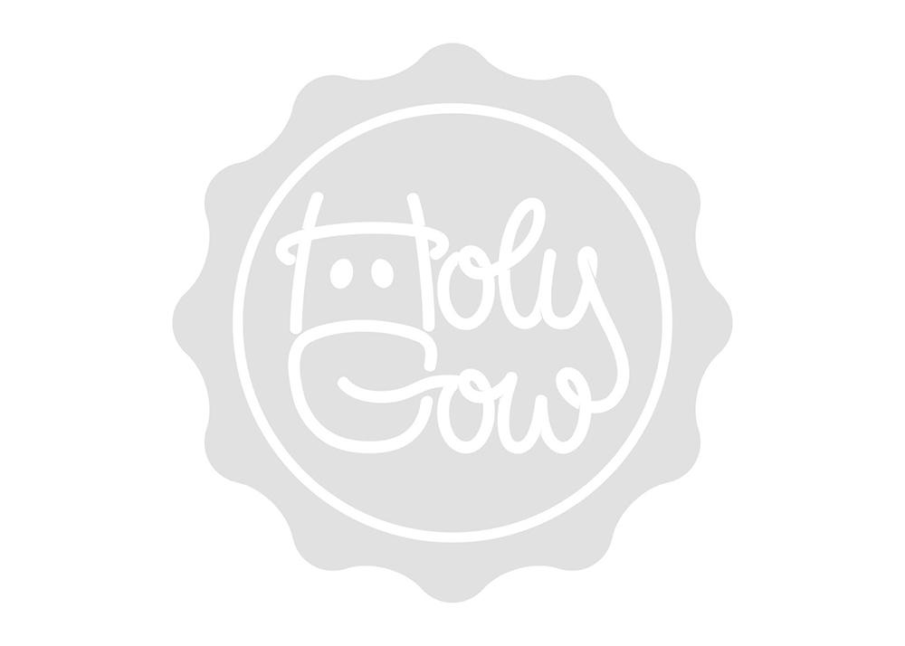 Projekt opakowania Holy Cow
