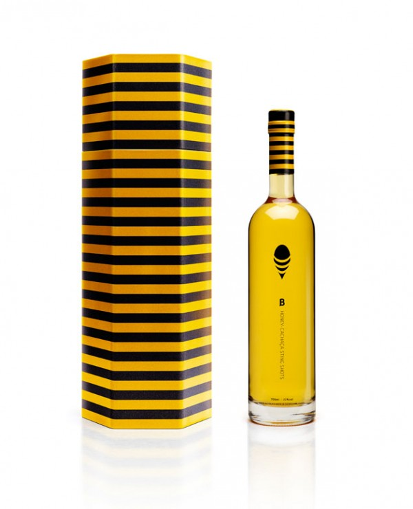Butelka B Honey Cachaça