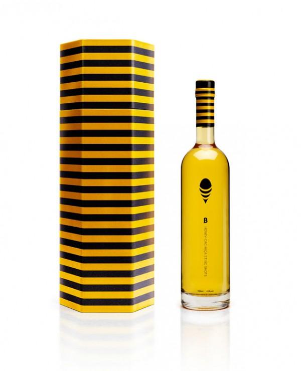Butelka B Honey Cachaça