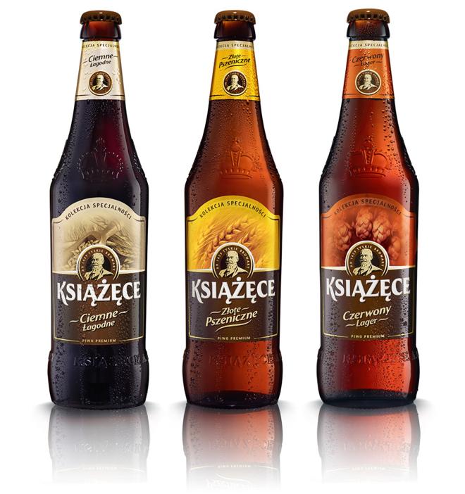 Butelka Piwa Książęce