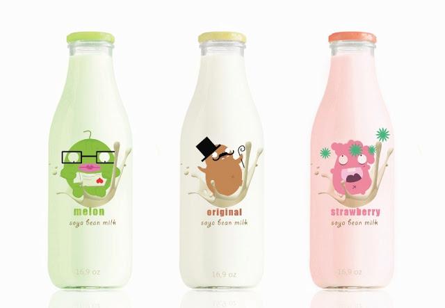 Butelka mleka Soyamilk