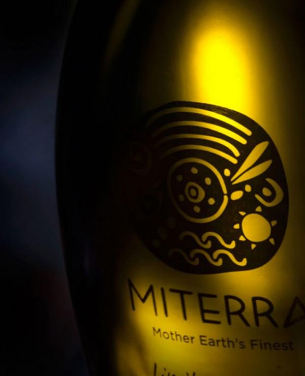 Butelka oliwy Miterra
