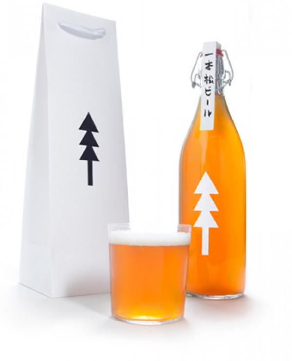 Butelka piwa Ippon Matsu Beer