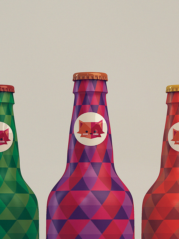 Butelka piwa Le Chat
