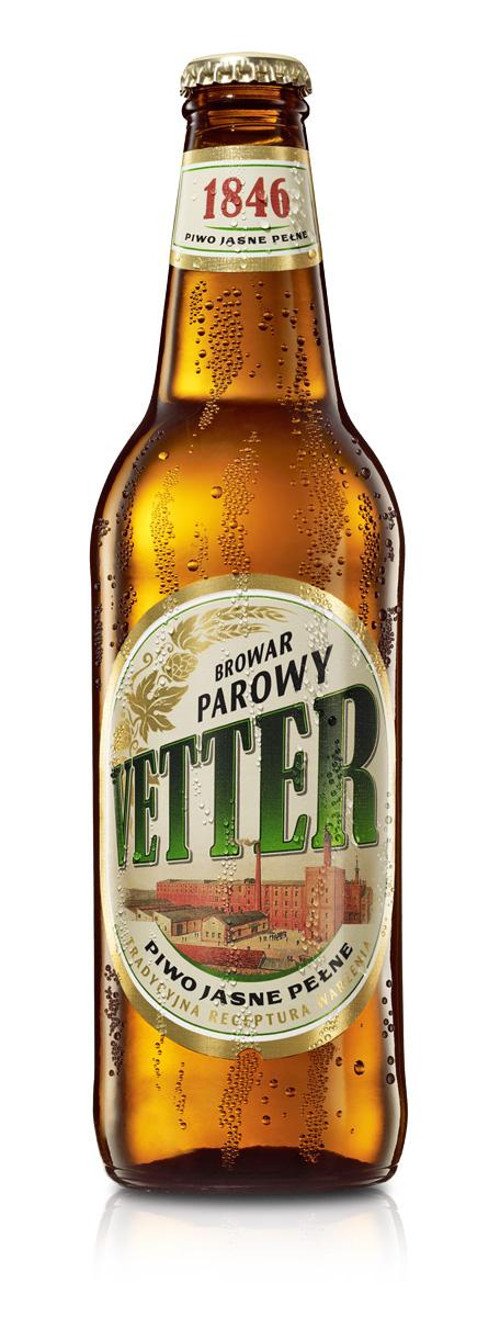 Butelka piwa Vetter