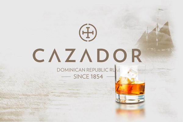 Butelka rumu Cazador