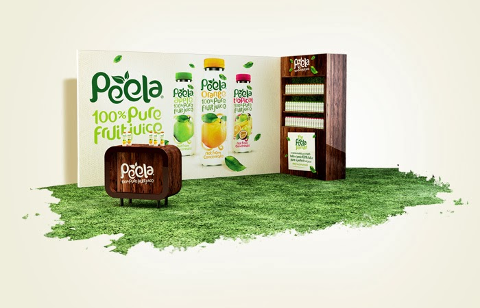 Butelka soku Peela Fruit