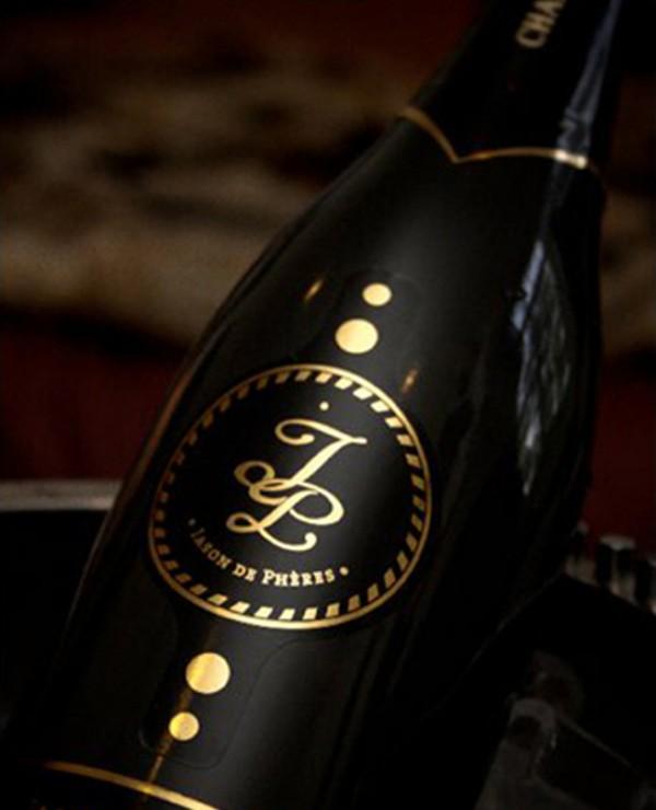 Butelka szampana Jason de Phères