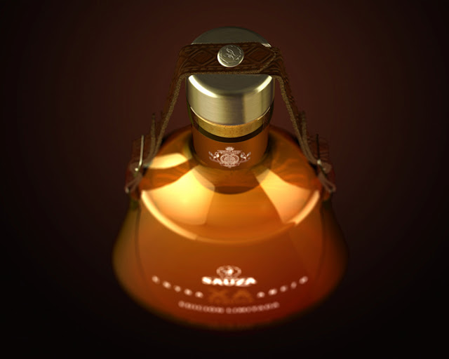 Butelka tequili Casa Sauza (edycja limitowana)