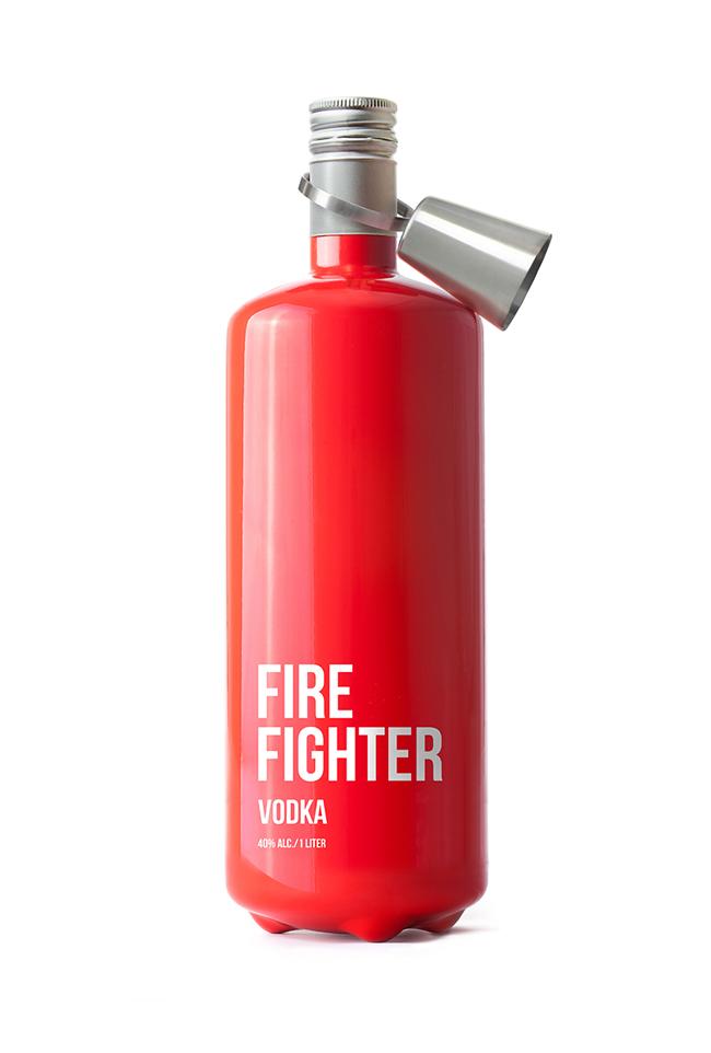 Butelka wódki Fire Fighter2