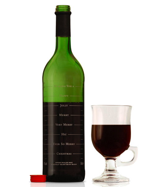 Butelka wina Buddy Mulled Wine