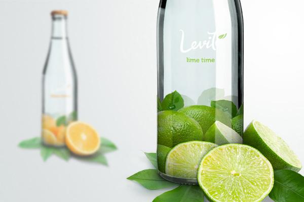 Butelka wody mineralnej LEVITÉ