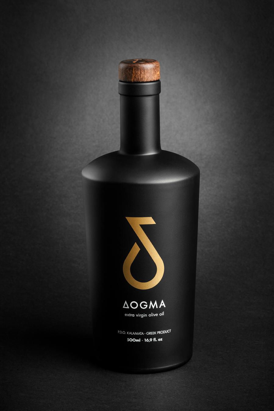 Ekskluzywna butelka oliwy Dogma