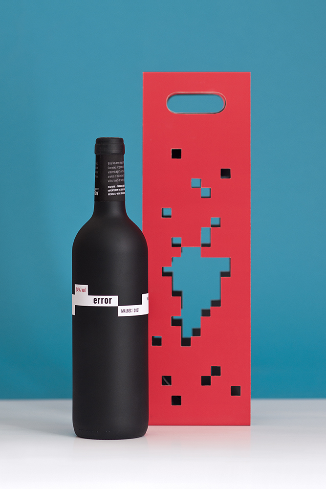 Error Wine (projekt studentki)