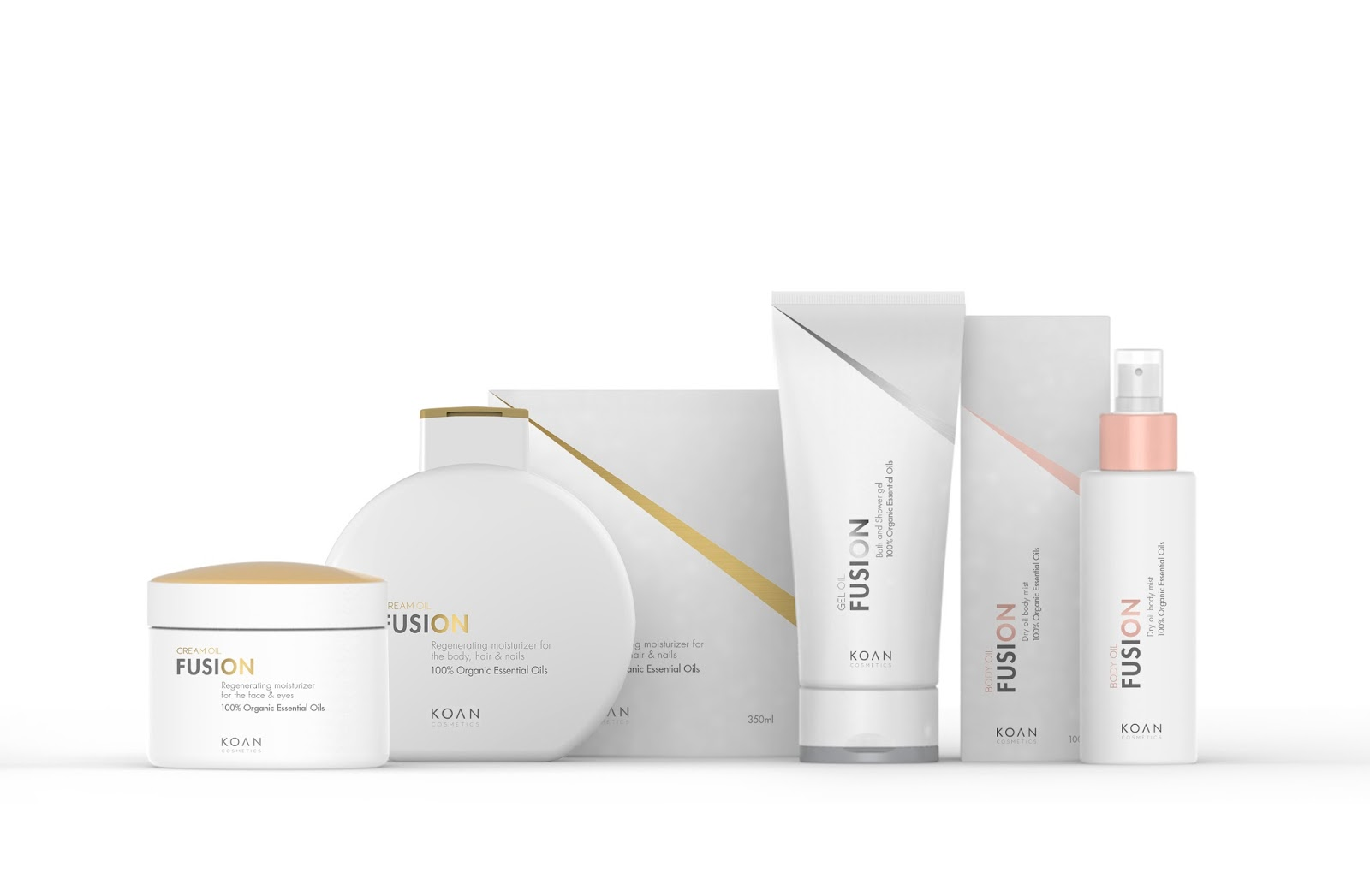 Opakowanie kosmetyków Fusion Cream