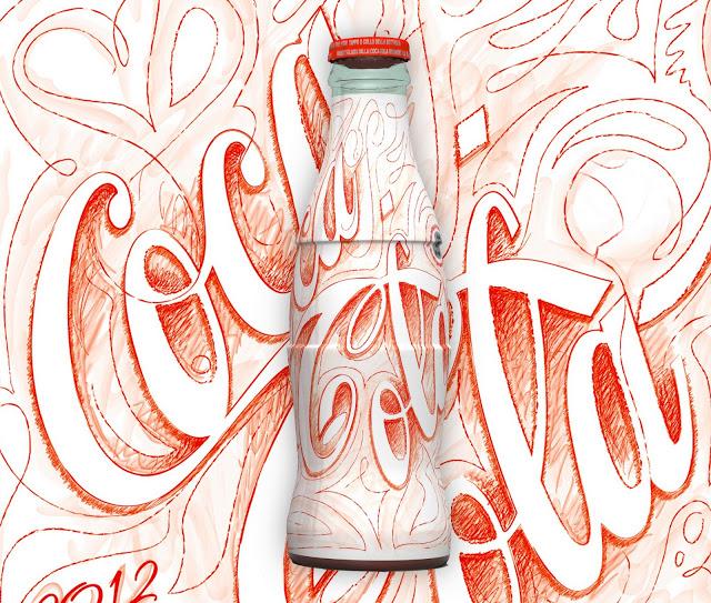 Kolorowe butelki Coca-Cola