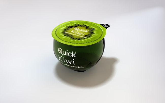 Opakowania galaretek Quick Fruit