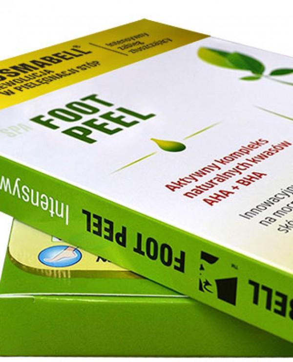Opakowania innowacyjnych produktów do pielęgnacji stóp