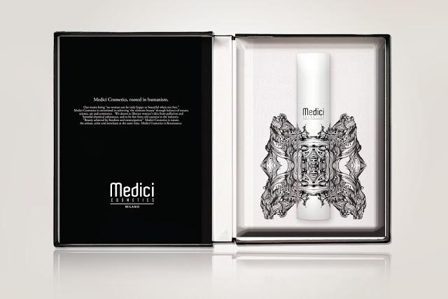 Opakowania kosmetyków Medici Cosmetics Milano