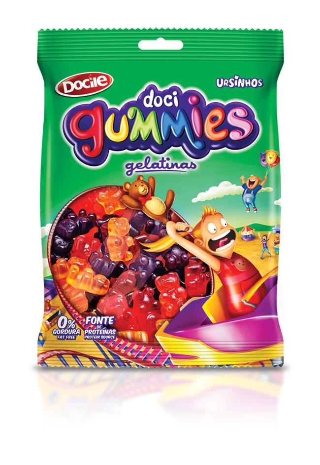 Opakowanie żelków Doci Gummies