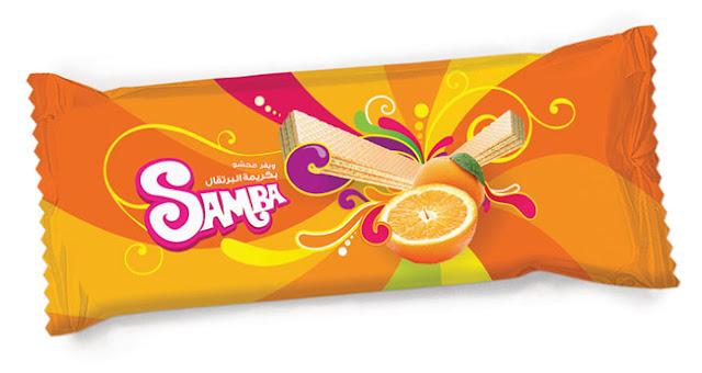 Opakowanie Samba Wafer