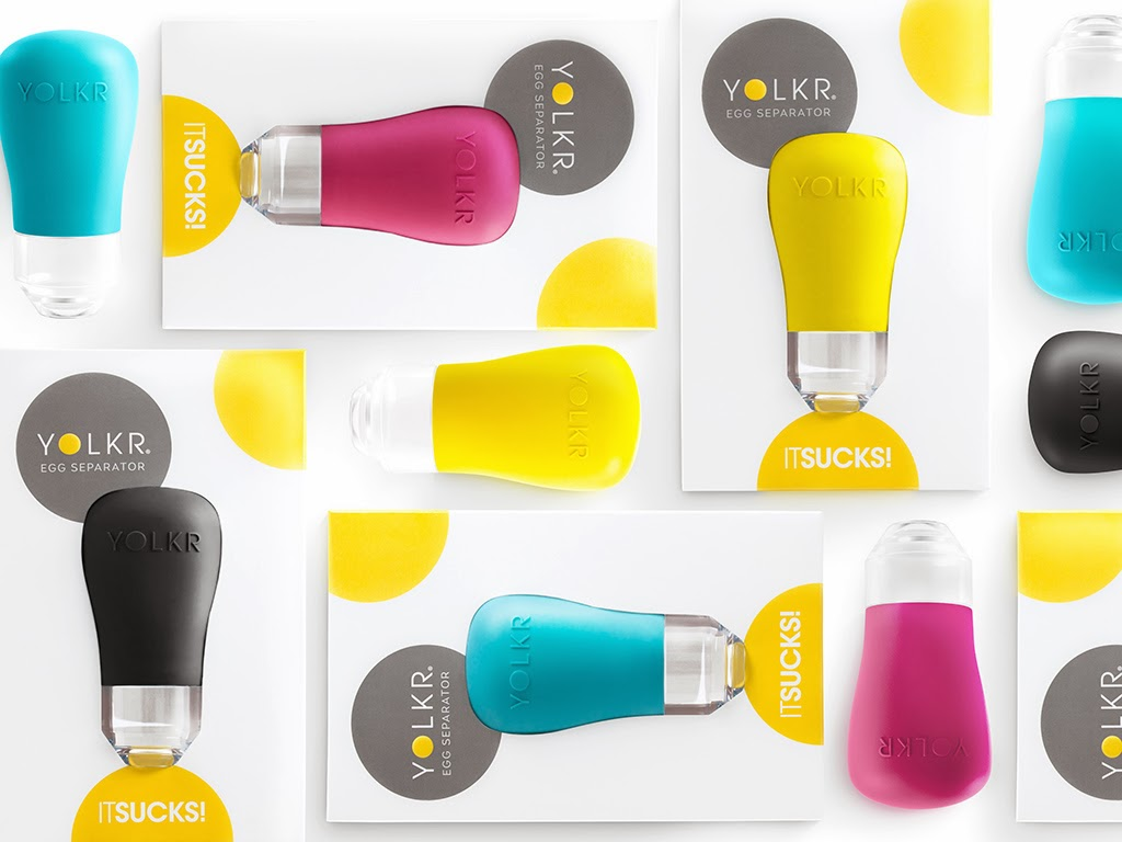 Opakowanie YOLKR - urządzenie do odzielania żółtka od białka