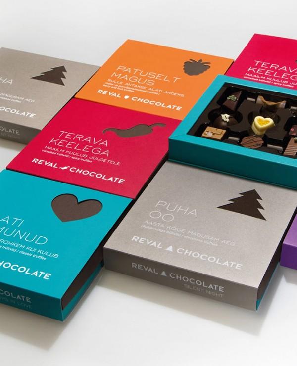 Opakowanie czekoladek Reval