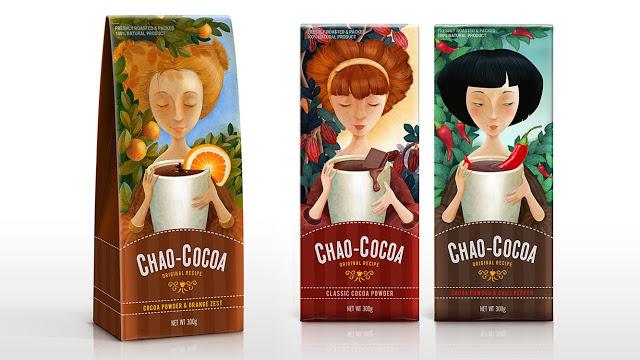 Opakowanie czekolady Chao Cocoa