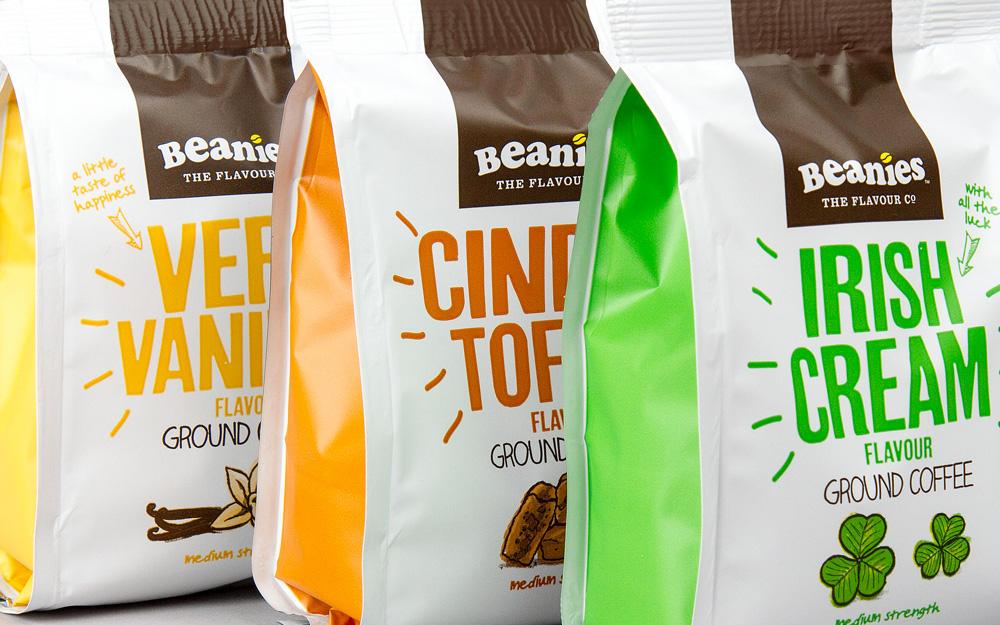 Opakowanie kawy Beanies