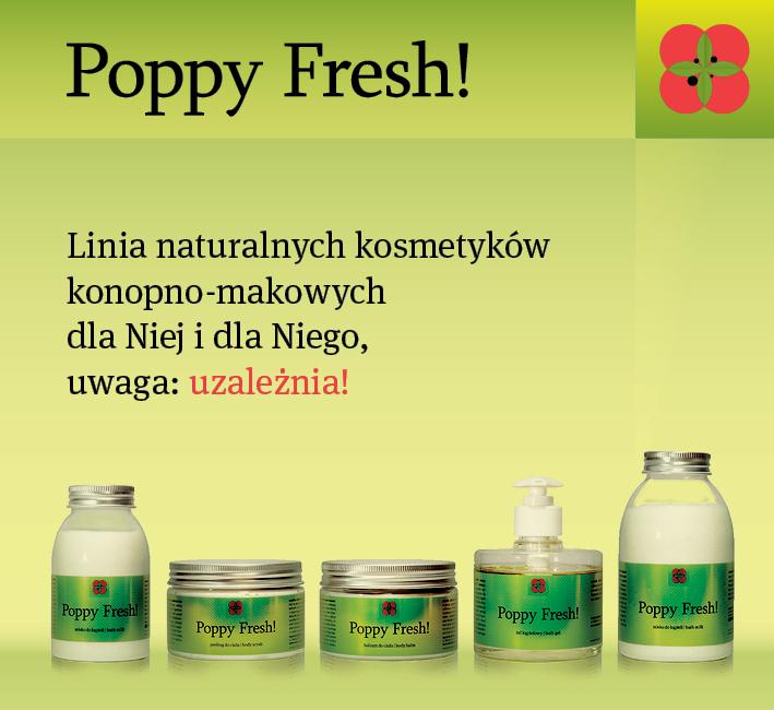 Opakowanie kosmetyków Poppy Fresh