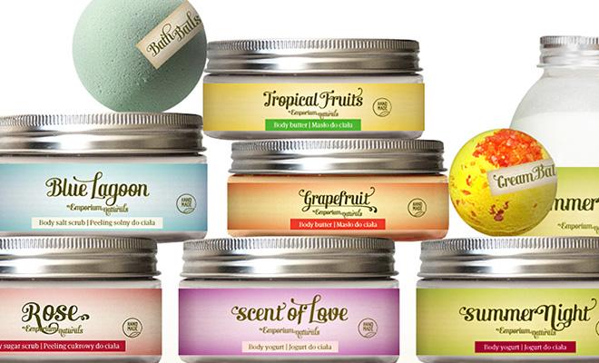 Opakowanie kosmetyków naturalnych Emporium Naturals