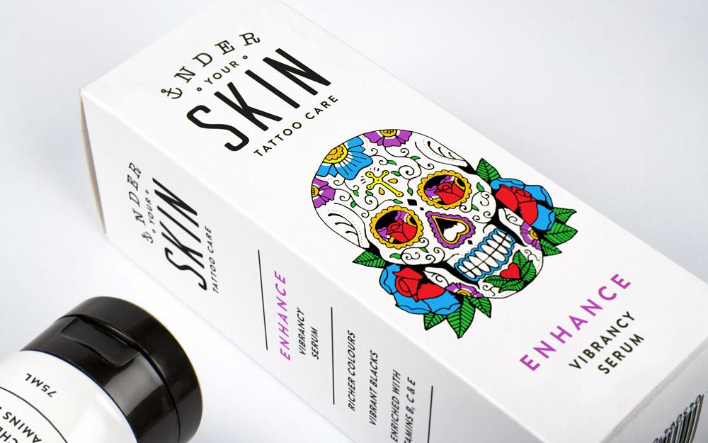 Opakowanie kremu Under Your Skin
