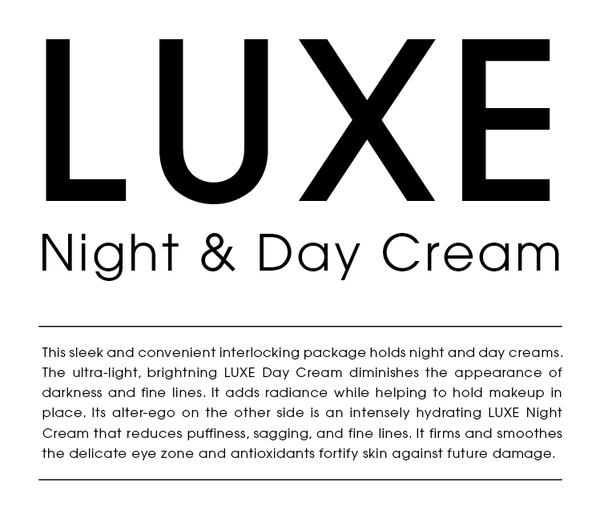 Opakowanie kremu na dzień i noc LUXE