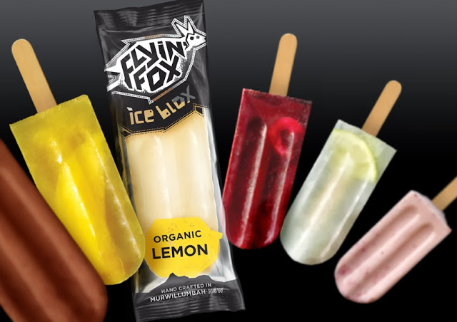 Opakowanie lodów Flyin' Fox Ice Blox