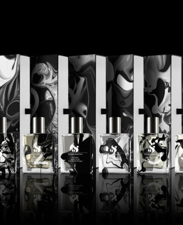 Opakowanie perfum Six Scents Characters
