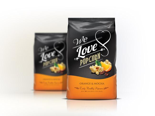 Opakowanie popcornu We Love Popcorn