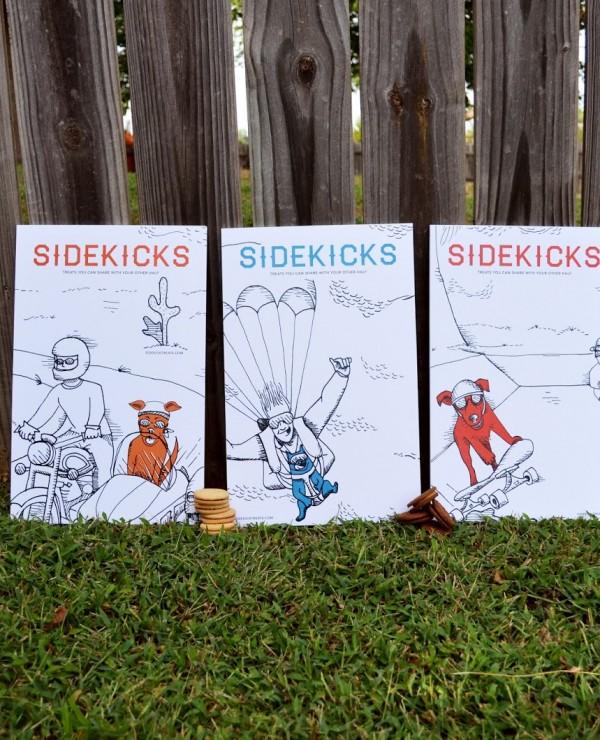 Opakowanie przysmaków Sidekicks (projekt studenta)