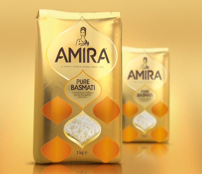 Opakowanie ryżu Amira