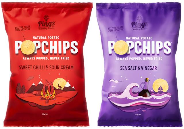 Paczka przekąsek Ping's Popchips