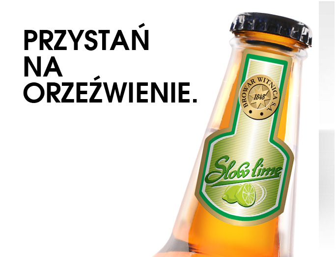 Projekt butelek dla browaru Witnica S.A.