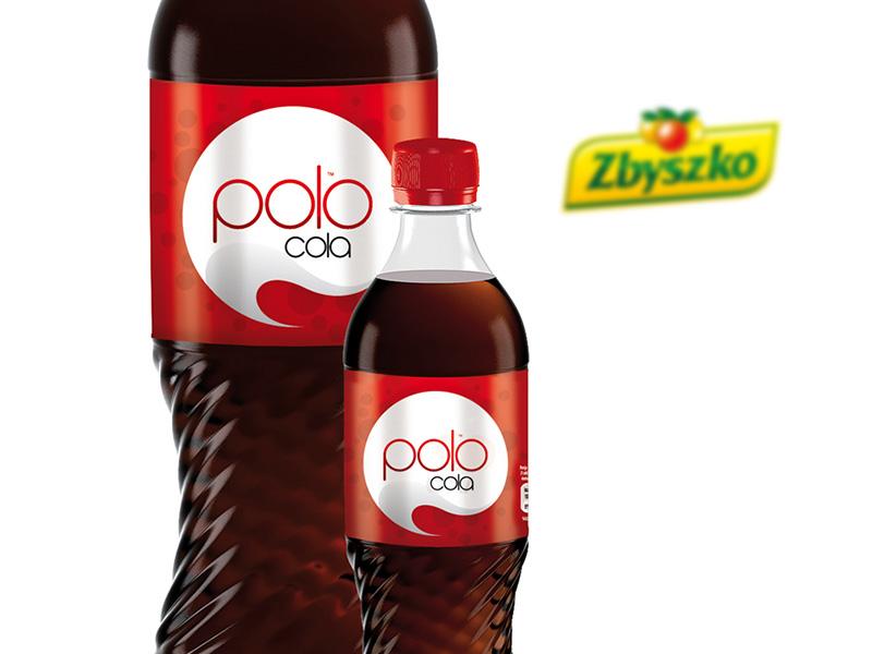 Projekt butelki Polo Cola