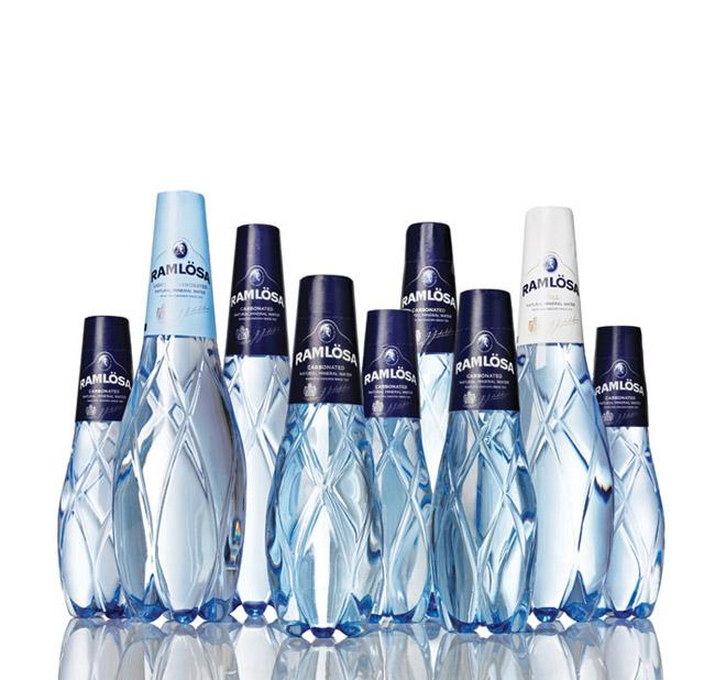 Projekt butelki wody Ramlösa