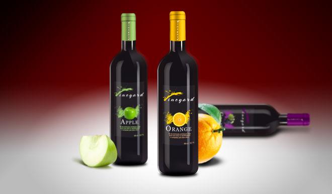 Projekt etykiety na butelki do wina (projekt studenta)1