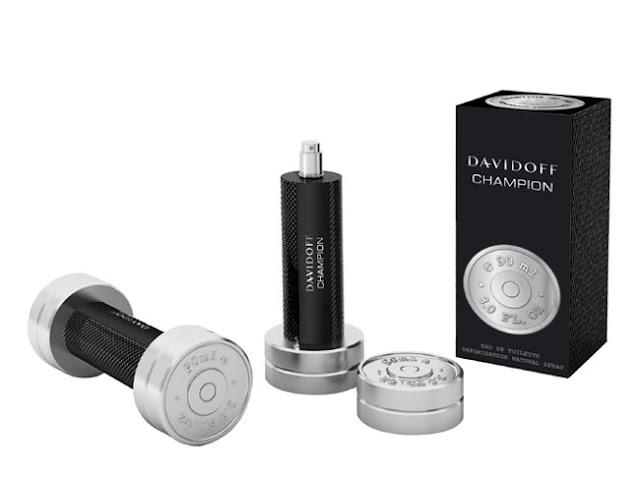 Projekt flakonu perfum Davidoff Champion2
