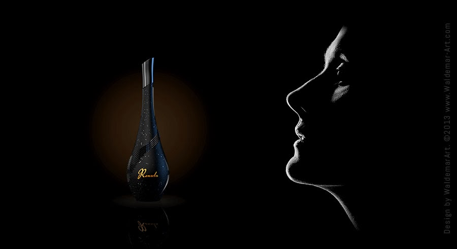 Projekt flakonu perfum Renata